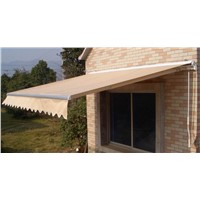 Popular Design retractable awnings for caravan awning(Manual)