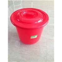 2014 hot sale plastic bucket with lid and handle