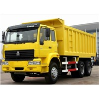 SINOTRUK HOWO TIPPER TRUCK EXPORT TO AFRICA