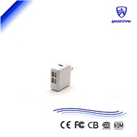USB Wall Charger 4 USB Port Charger