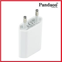 DC 5V 500mA Mini Flat USB Wall Charger