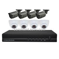CCTV Security System 8CH 720P Real-time AHD DVR Kits DR-KA7508M