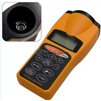 Digital LCD Ultrasonic Tape Laser Point Distance Measure Meter Range Measurer