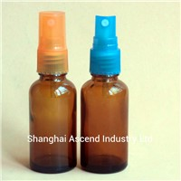 Amber Essential Oil Glass Spray Bottle