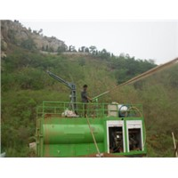 High Pressure Hydraulic Hydroseeder Spraying Machine