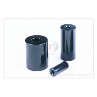 NdFeB magnet ring/tube N50 Black epoxy coating