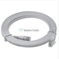 New 10FT 3M CAT6 Flat UTP Ethernet Network Cable RJ45 Patch LAN Cord