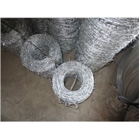Security Sharp Military Barbed Wire Spiral Twisted Barbed Wire