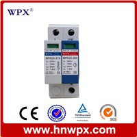 Single phase power surge protector