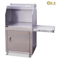 Stainless Steel Worktable Range Hood BY-JG600