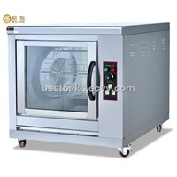 Stainless steel Electric Chicken Rotisserie 24 chickens BY-EB201