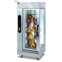 Stainless Steel Gas Vertical Chicken Rotisserie BY-GB306