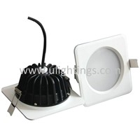 12W Round IP65 Driverless LED Downlight