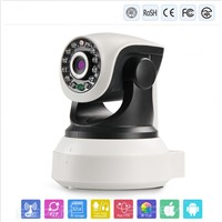 2014 new hot security wireless camera with sd card P2P wireless outdoor network ip camera