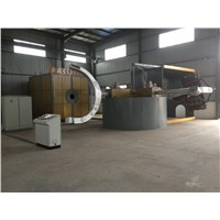 5 stations rotational molding machine