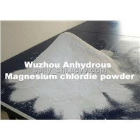 Anhydrous magnesium chloride powder