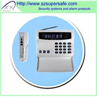 GSM home alarm system with LCD display