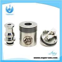 make in china ss rebuildable brass monkey atty atomizer rda tobh atty v2 atomizer