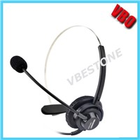 Monaural Telecommunication Headset, Telephone Headset