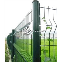 PVC coated welded park/zoo wire mesh fence