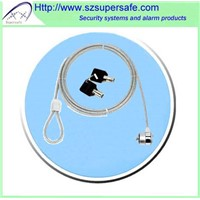 Universal safety lock cable laptop lock with keys