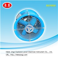 explosion proof draught fan for mine and factory