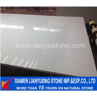pure white quartz slab for countertop