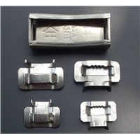 Hotsale Cheap Stainless steel tie buckle for cable band,cable clip