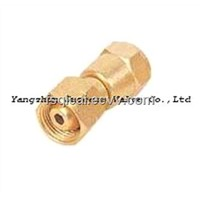 "Gas Fittings FPOL(0.885""-14NGO-LH-INT)xG3/8-LH"
