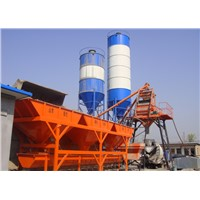 HZS 50 series mobile concrete batch plant equipment