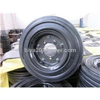 semi-pneumatic rubber wheel wheelbarrow wheel