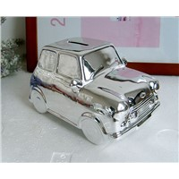 Ceramic Car Shape Coin Bank, Saving Bank
