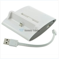 Dual OTG USB Sync Battery Charger Dock Holder For SAMSUNG Galaxy S3 i9300