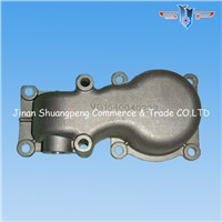 Howo spare parts water drain connecting pipe