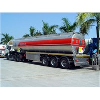 alum fuel tanker semi-trailer