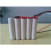 AAA 350mah 6V NICD rechargeable battery pack
