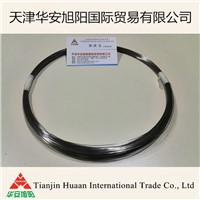Alloy wire for magnetostrctive level gauges and displacement sensor