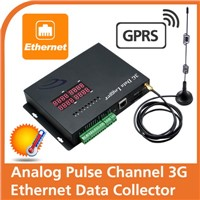 Analog Pulse Channel 3G Ethernet Data Collector