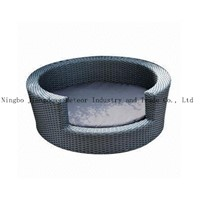 MTC-097 outdoor wicker pet bed