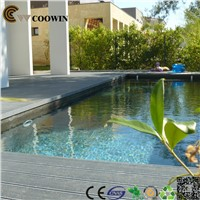 Swimming pool decoration composite decking prices