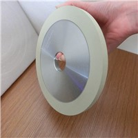 Vitrified bond diamond bruting wheels for natural diamond