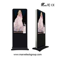 55 inch floor standing HDMI media lcd advertising display screen