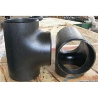 ASTM A234 ANSI B16.9 Pipe fittings tee