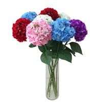 Artificial Flower Wedding Home Decorative Real Touch Hydrangea Flower