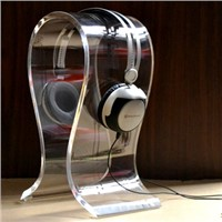 Earphone acrylic display stand