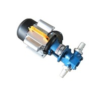 fuel oil transfer electric handle gear pump