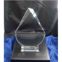 yiwu k9 blank crystal trophy award for business gifts