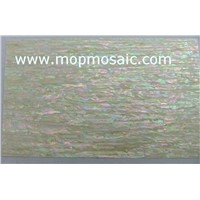 Yellow korean paua shell laminate sheet