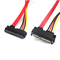 7+15 SATA extension cable
