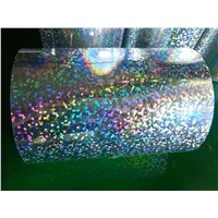 PET Holographic film for product lable